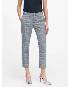 PANTALÓN MUJER AVERY STRAIGHT-FIT PLAID ANKLE