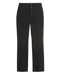 PANTALÓN MUJER HIGH-RISE CROP FLARE BUTTON FLY