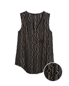 BLUSA INVERTED PRINT