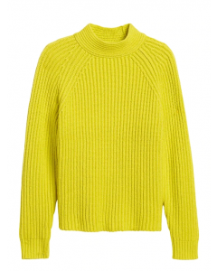 SWEATER MUJER CHUNKY HIGH CREW-NECK