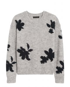 SWEATER MUJER FLORAL