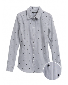 BLUSA MUJER RILEY TAILORED-FIT STAR