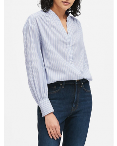 BLUSA MUJER RELAXED PUFF-SLEEVE