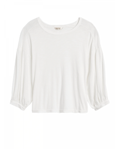 POLO MUJER BALLOON-SLEEVE CROPPED