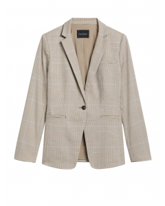 BLAZER MUJER LONG & LEAN-FIT WASHABLE